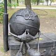 Iron Kolobok in Donetsk