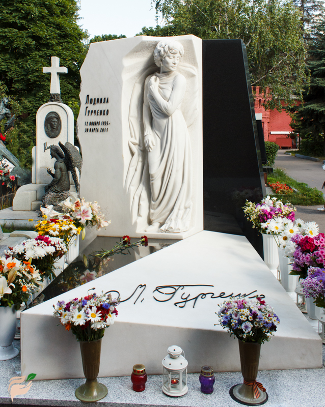 Lyudmila Markovna Gurchenko (1935-2011) - a famous actress, pop singer, favorite actress of many generations of Russians