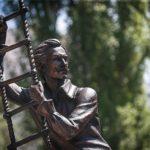 Comedy actor Georgy Vitsin Monument