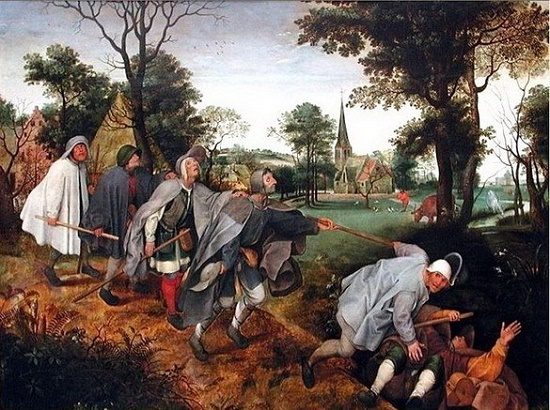 Peter Brueghel the Elder 'The Parable of the Blind'