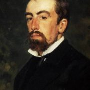 Self-portrait. Vasily Polenov