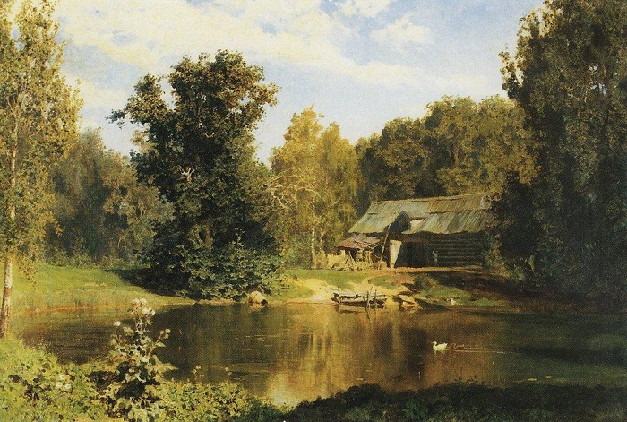 The Pond in Abramtsevo. 1883
