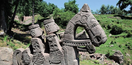 Unique stone sculptures found by Russian-Indian expedition