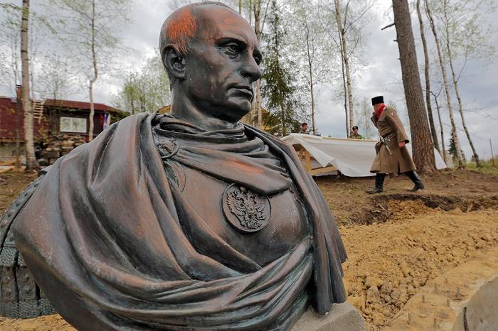 Vladimir Putin as Roman emperor