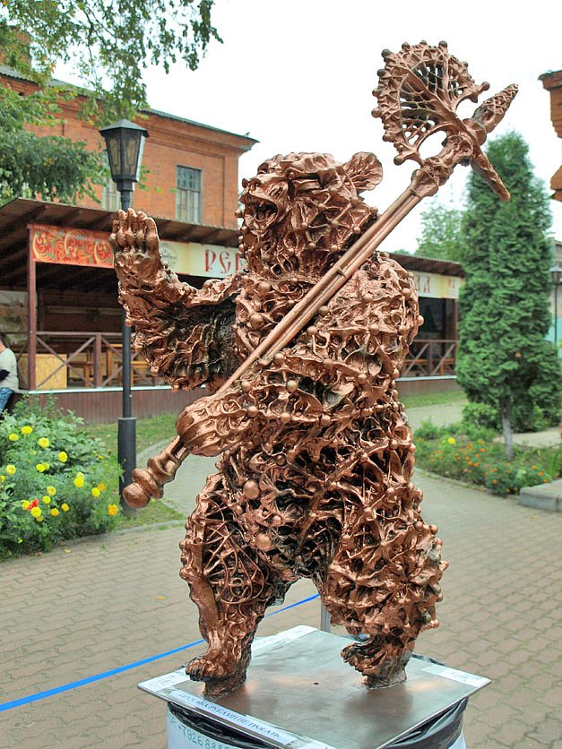 Bear-emblem of the city of Yaroslavl