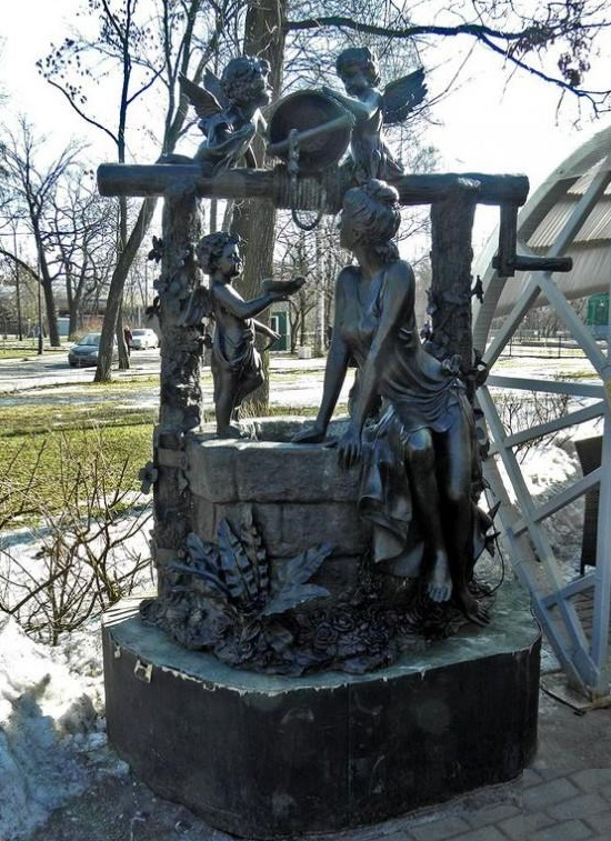 Happy Well of Angels in St. Petersburg