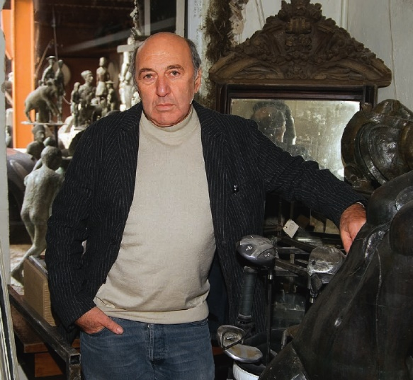 Sculptor Georgy Frangulyan