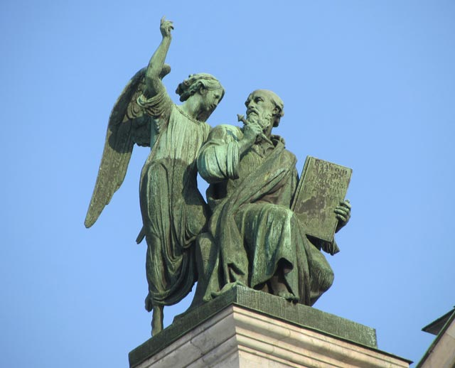 Statue of the Apostle Matvey, Saint Isaac's Cathedral
