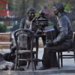 Baikal Wanderer Monument