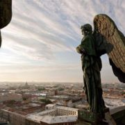 The Northern capital of Russia - under protection of angels. Saint Isaac's Cathedral