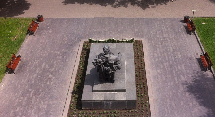 The view from above - monument to the composer