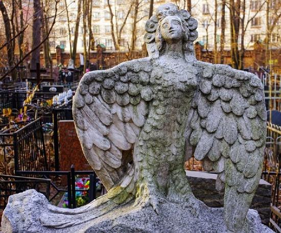 Vvedensky Cemetery monument