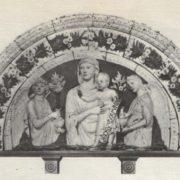 Madonna and Child. Majolica. 1470s