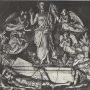 Resurrection. Majolica. 1443-1445