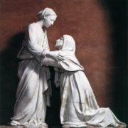 The Visitation, tin-glazed terracotta, 1445