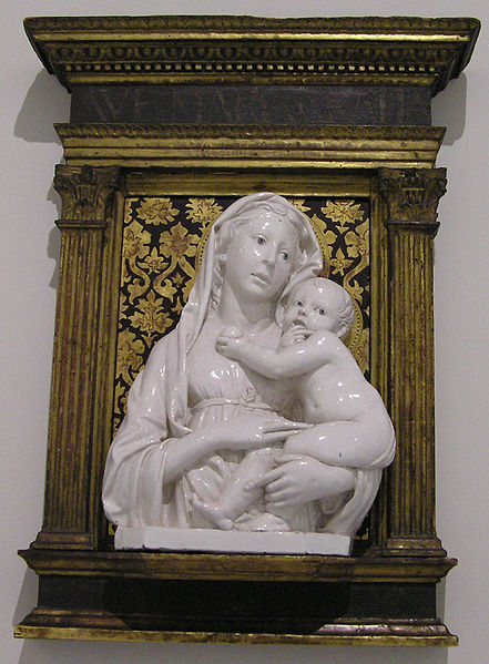 Virgin with Child, 1450, Bode Museum, Berlin