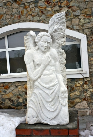 Angel, Guenther Heinz, Germany, marble, 2010