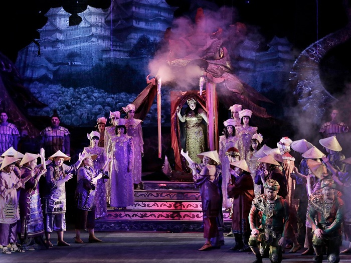Donetsk Theater of Opera and Ballet. princess Turandot
