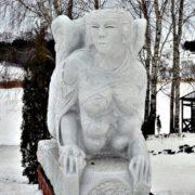 Franco Daga. Italy, Sphinx marble