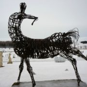 Nedim Hadzhiakhmetovich, Serbia, Wounded Centaur, Steel, 2009