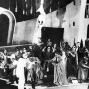Performance 'Princess Turandot, 1922