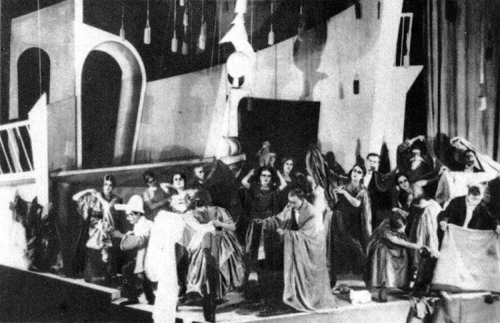 Performance 'Princess Turandot, 1922