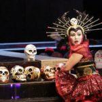 Capricious Princess Turandot fountain sculpture