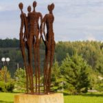 The Legend Largest sculptural park in Russia