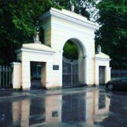 Volkovo cemetery Necropolis Literary Bridges