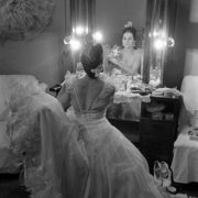 Before the performance, O.V. Lepeshinskaya