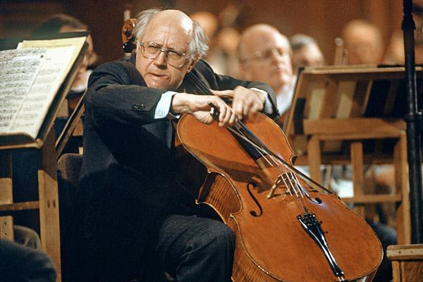 Mstislav Leopoldovich Rostropovich was an outstanding cellist, pianist, conductor, and public figure