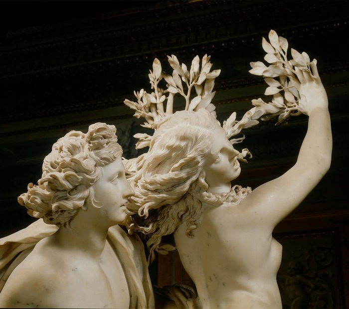 Apollo and Daphne. Fragment