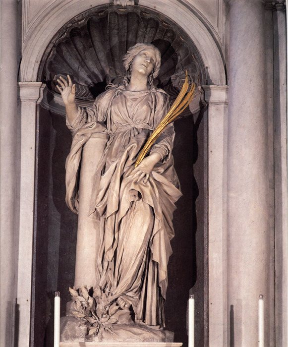 St. Bibiana, 1626