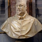 'You've created a wonderful work', the cardinal said. 'I do not speak like a person, which you have captured, but as an admirer of your art.' Bust of Scipione Borghese, 1632