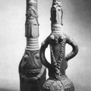 Decorative vessel (1972). Bottle (1968)