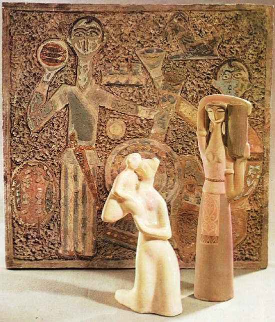 Work by Armenian sculptor Ruben Isaakovich Shaverdyan (1900-1977)