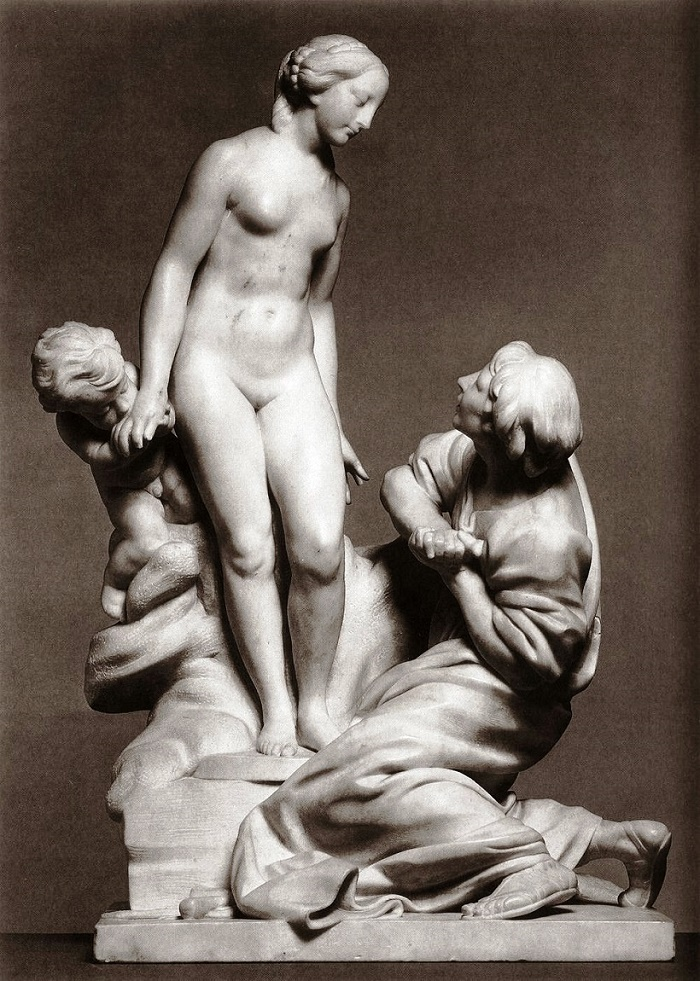 Etienne Maurice Falconet. Pygmalion and Galatea. 1763