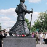 Monument to Ice-cream seller Zinaida Sinitsyna