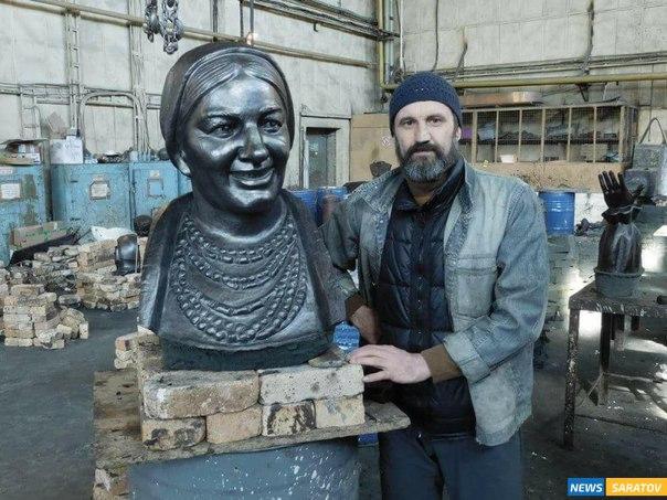 Sculptor Andrey Shcherbakov