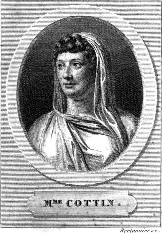Sophie Cottin (22 March 1770 - 25 August 1807)