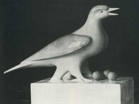 A bird. Project of monument. 1940