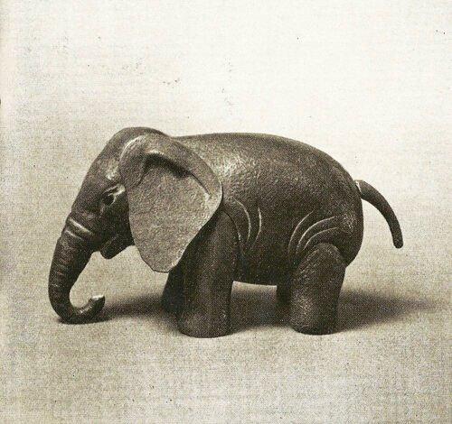Baby elephant. 1935