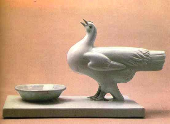 Drinking hen, 1959