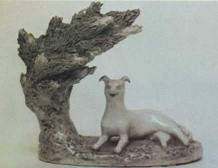 Project of fountain with a dog. Detail. 1977