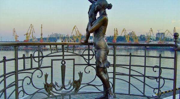 Monument to the Seaman's Wife, Odessa, Ukraine